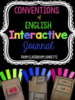 Interactive Grammar Journal {Conventions of Standard English}
