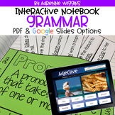 Grammar Interactive Notebook (Google Classroom & PDF Versi