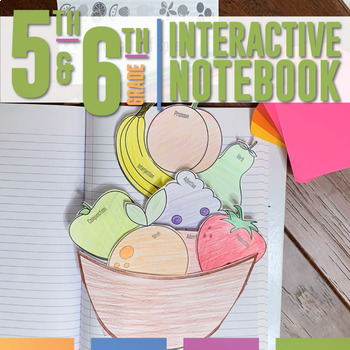 Interactive Grammar Notebooks for Fifth and Sixth Grades