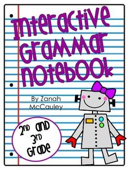 Interactive Grammar Notebook (2nd and 3rd Grade)