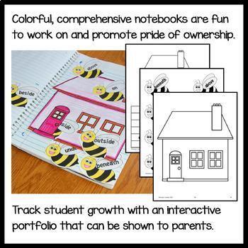 Interactive Grammar Notebook First Grade Common Core