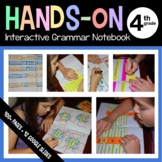 Interactive Grammar Notebook Fourth Grade Common Core with Scaffolded Notes