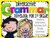 Interactive Grammar Notebook ~ Grammar/Mechanics for 1st Grade CCSS