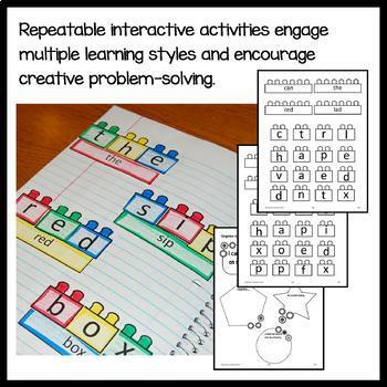 Interactive Grammar Notebook Kindergarten Common Core with Scaffolded Notes