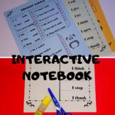 Interactive Grammar Notebook -  Present Tense and Sight Words