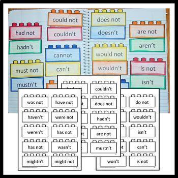 Interactive Grammar Notebook Second Grade Common Core