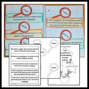 Interactive Grammar Notebook Seventh Grade Common Core