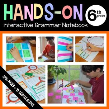 Interactive Grammar Notebook Sixth Grade Common Core