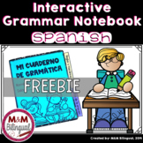 Interactive Grammar Notebook *Spanish FREEBIE*