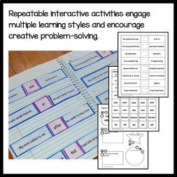Interactive Grammar Notebook Third Grade Common Core