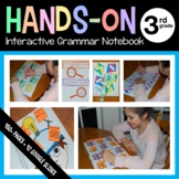 Interactive Grammar Notebook Third Grade Common Core with Scaffolded Notes