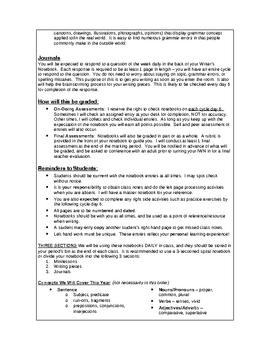 Interactive Grammar Notebook - UPDATED 2009