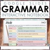 Interactive Grammar Notebook for Google Slides