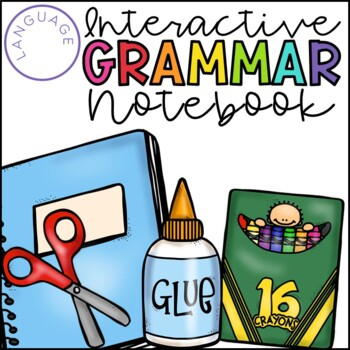 Interactive Grammar Notebook for the Primary Grades {Commo
