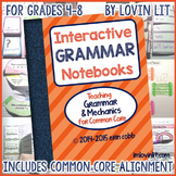 Grammar Interactive Notebook: Grammar Activities | Interac