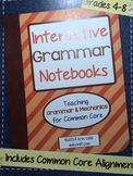 Interactive Grammar Notebooks ~ HARD COPY Spiral Bound Notebook