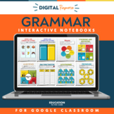 Grammar Interactive Notebook Mega Bundle | Parts of Speech
