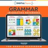 Grammar Interactive Notebook Mega Bundle | Parts of Speech | Grammar Practice