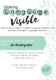 Grammar & Punctuation skills- Kindy (Early Stage 1) + Beginning EAL/D students