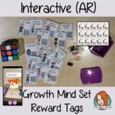 Interactive Growth Mind Set Reward Tags Set 2 (Brag Tags)