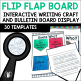 Guess Who Flip Flap Bulletin Board Display