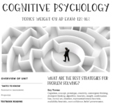 Interactive/Guided Notes | AP Psychology | Cognitive Psychology *Block