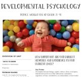 Interactive/Guided Notes | AP Psychology | Developmental Psychology *Block
