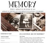 Interactive/Guided Notes | AP Psychology | Memory *Block *Editable