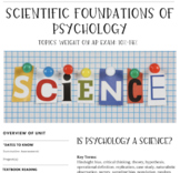 Interactive/Guided Notes | AP Psychology | Scientific Foundations of Psychology