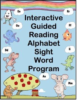 Interactive Guided Reading Alphabet Sight Word Program
