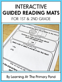 Interactive Guided Reading Mats for 1st Grade and 2nd Grade