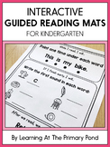 Interactive Guided Reading Mats for Kindergarten