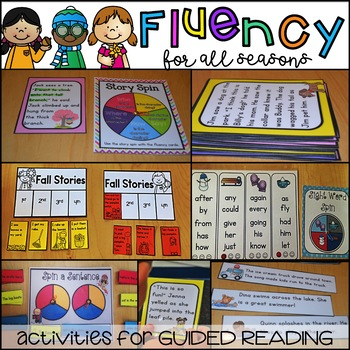 Interactive Guided Reading Seasonal BUNDLE