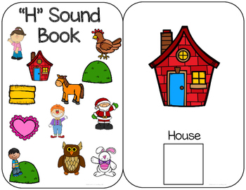 "Interactive ""H"" Sound Book FREE: Sample of a larger Pack"