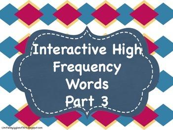 Interactive HFW Notebook Part 3
