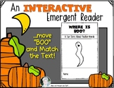 Interactive Halloween Emergent Reader: Where is BOO?  Posi