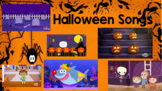 Interactive Halloween Song Choice Board