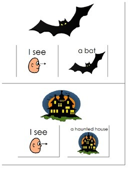Interactive Halloween What Do You See Book