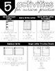 Interactive Handwriting Bundle: Cursive and Print