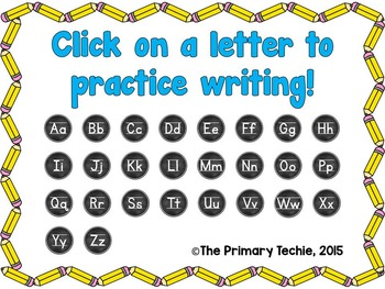 Interactive Handwriting - Techie Style