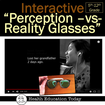 "Interactive Health Lesson: Students LOVE These ""Perception-vs-Reality"" Glasses"