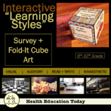 "Interactive Health Lesson: Learning Styles Survey and a ""Fold It"" Cube!"