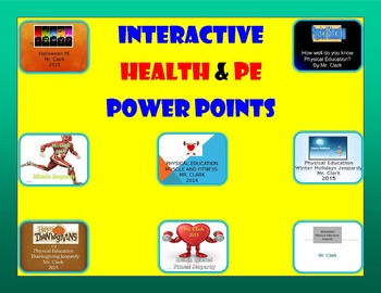 Interactive Health and PE Bundle