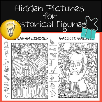 Interactive Hidden Picture Puzzle-Coloring pages
