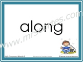 Interactive High Frequency Words 2nd Grade/English- Alphab