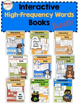 Interactive High-Frequency Words Books BUNDLE