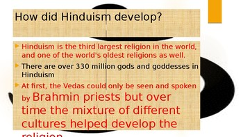 Interactive Hinduism PowerPoint