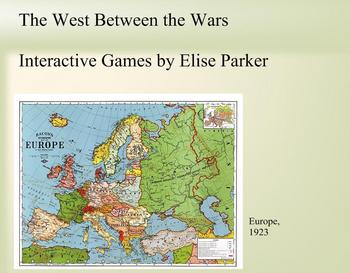 Interactive History Games -- Between the World Wars (20's and 30's)