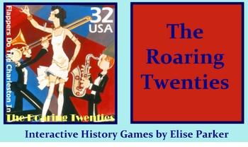 Interactive History Games -- The Roaring Twenties