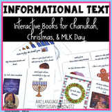 Interactive Vocabulary Holiday Books Christmas and Hanukkah
